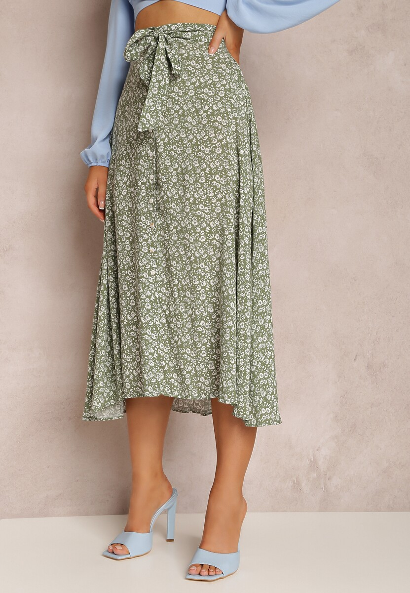 Zielona Spódnica Izuina