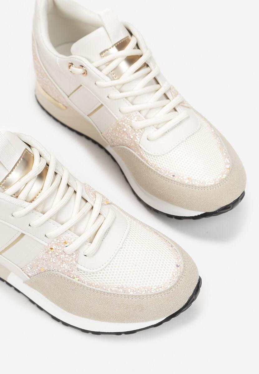 Beżowe Sneakersy Dilya