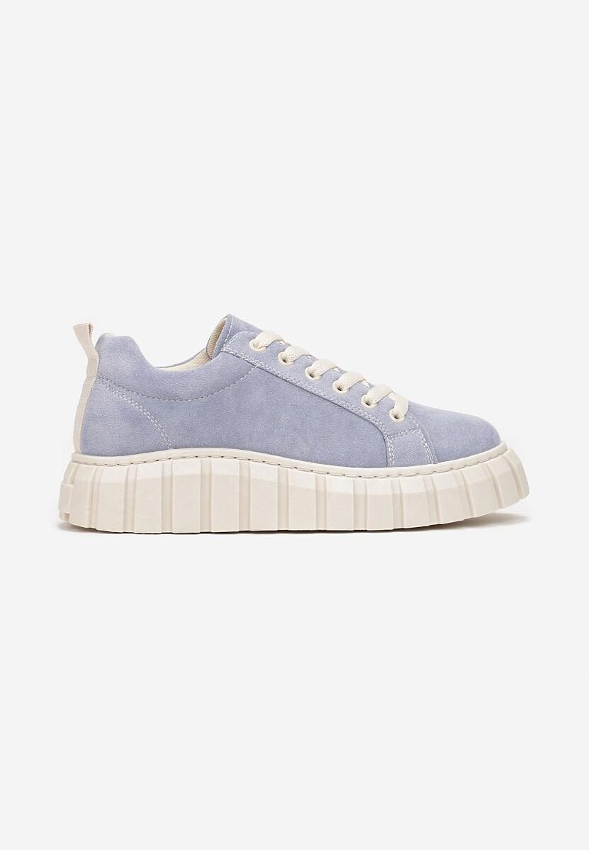 Niebieskie Sneakersy Talten