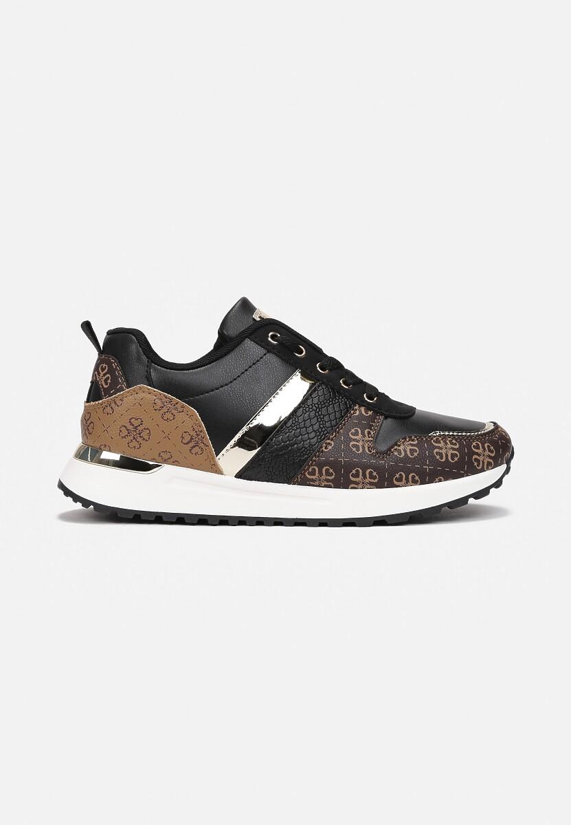 Czarne Sneakersy Hiseuntea