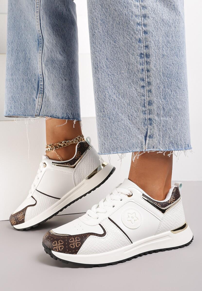 Białe Sneakersy Ruxisdea