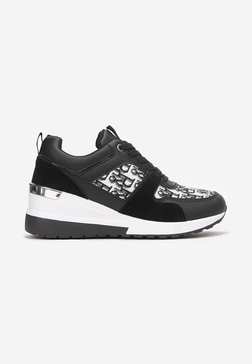 Czarne Sneakersy Therlyame