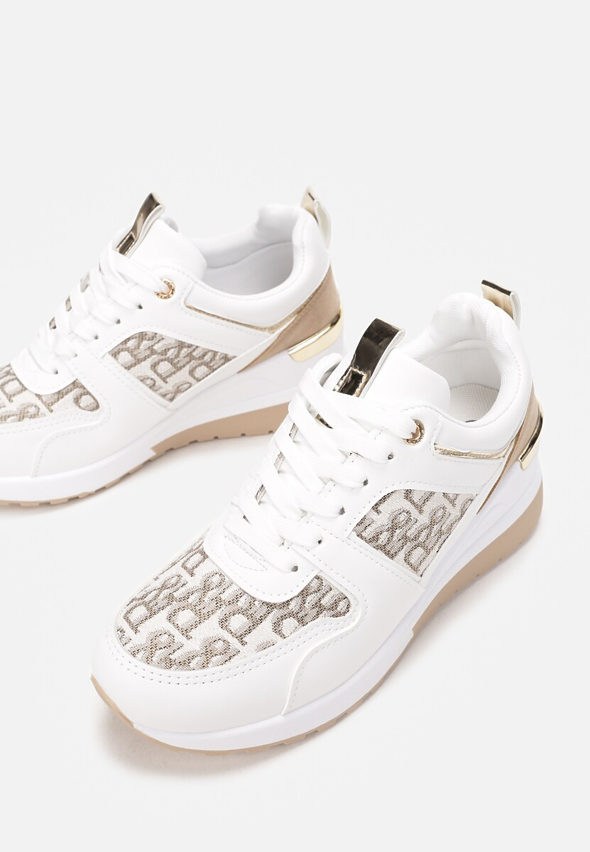 Białe Sneakersy Therlyame