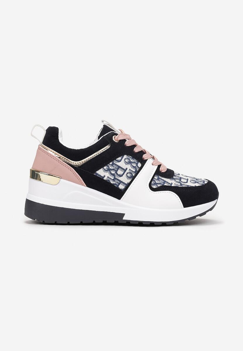 Granatowe Sneakersy Therlyame