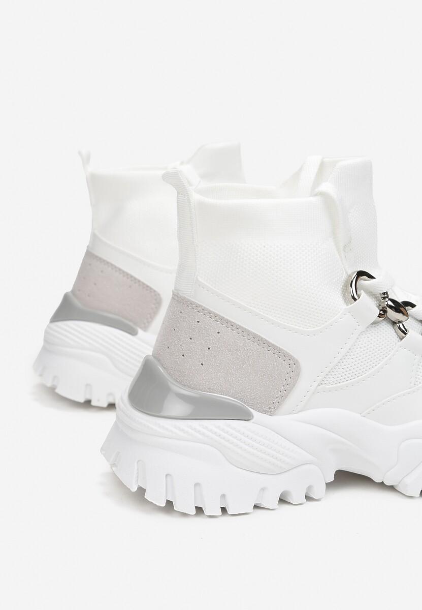 Białe Sneakersy Gwenena