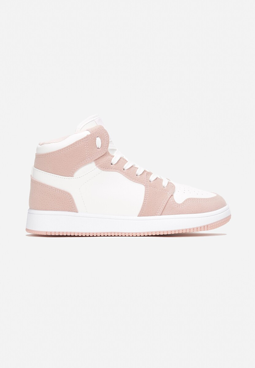 Biało-Różowe Sneakersy Venevel