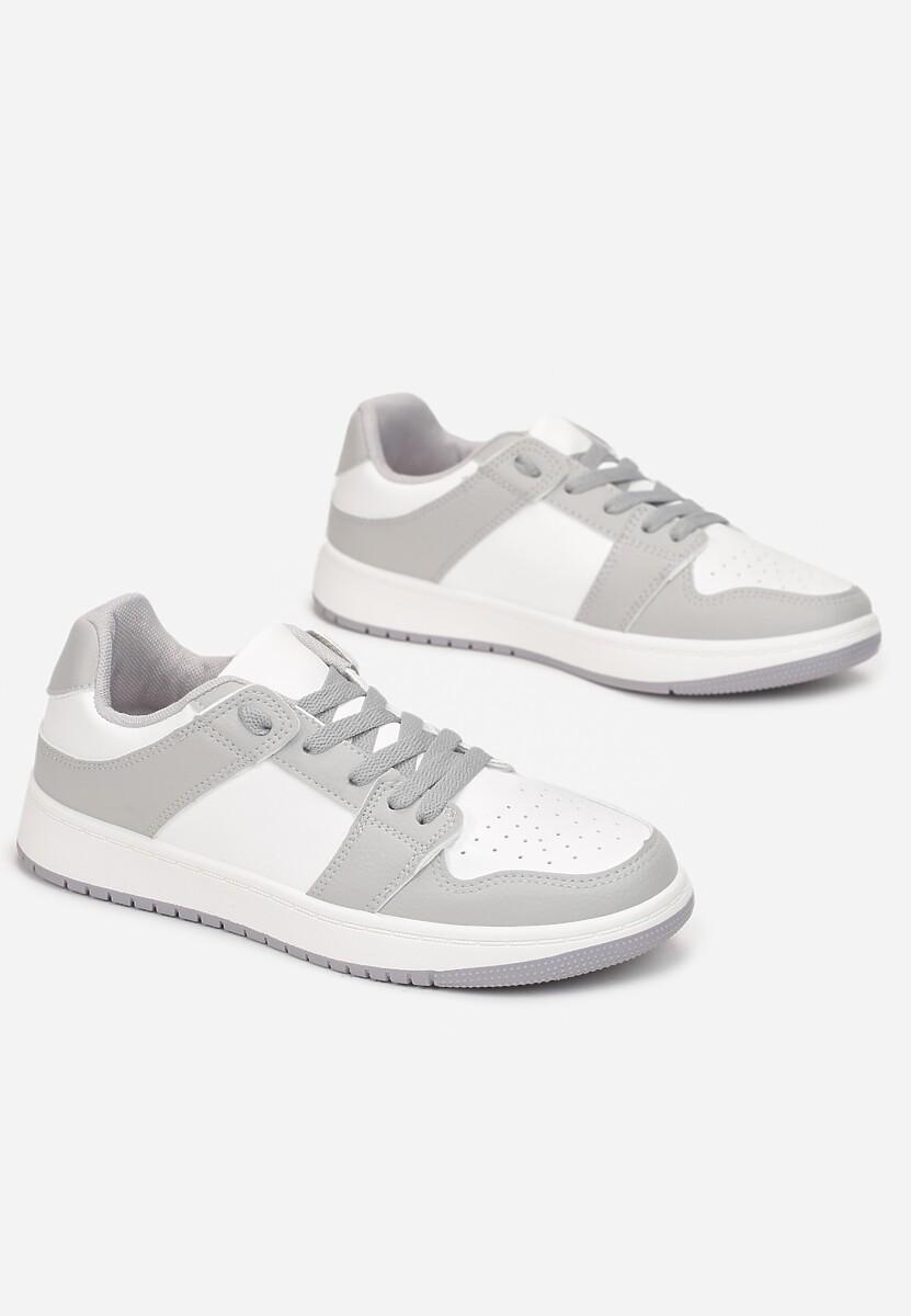 Biało-Szare Sneakersy Yulanez