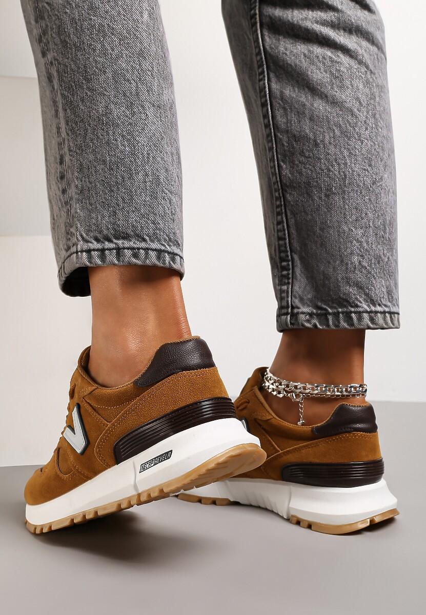 Brązowe Buty Sportowe Eos