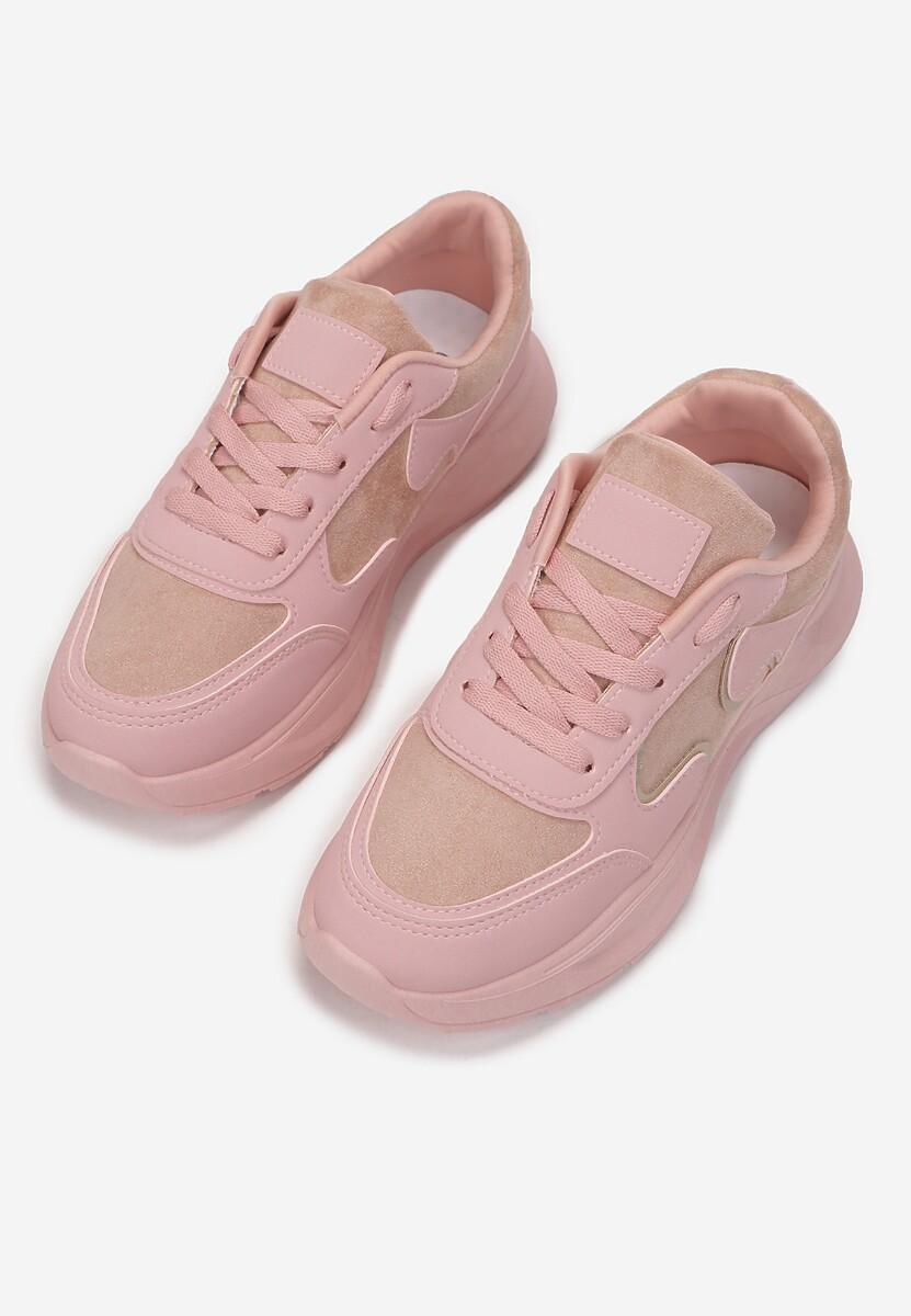 Różowe Sneakersy Lance