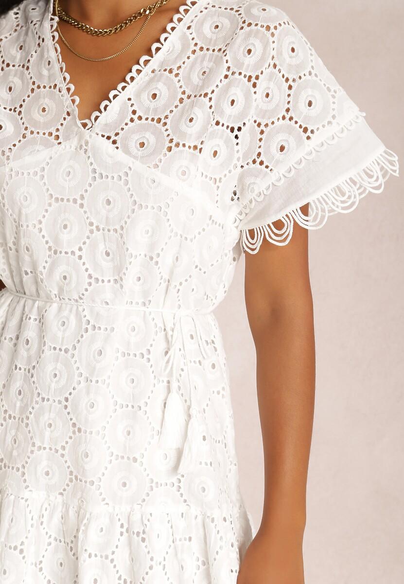 Biała Sukienka Seraph