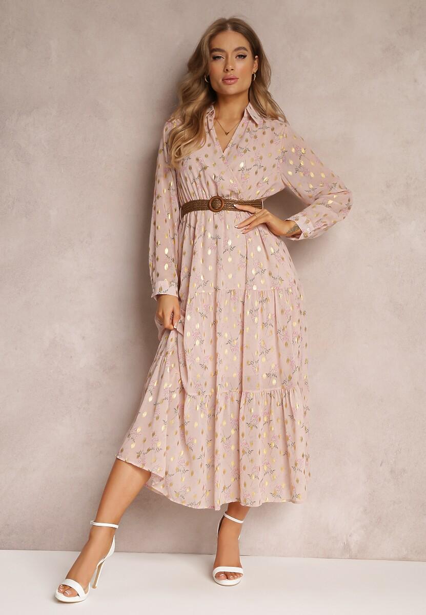Różowa Sukienka Sachiel