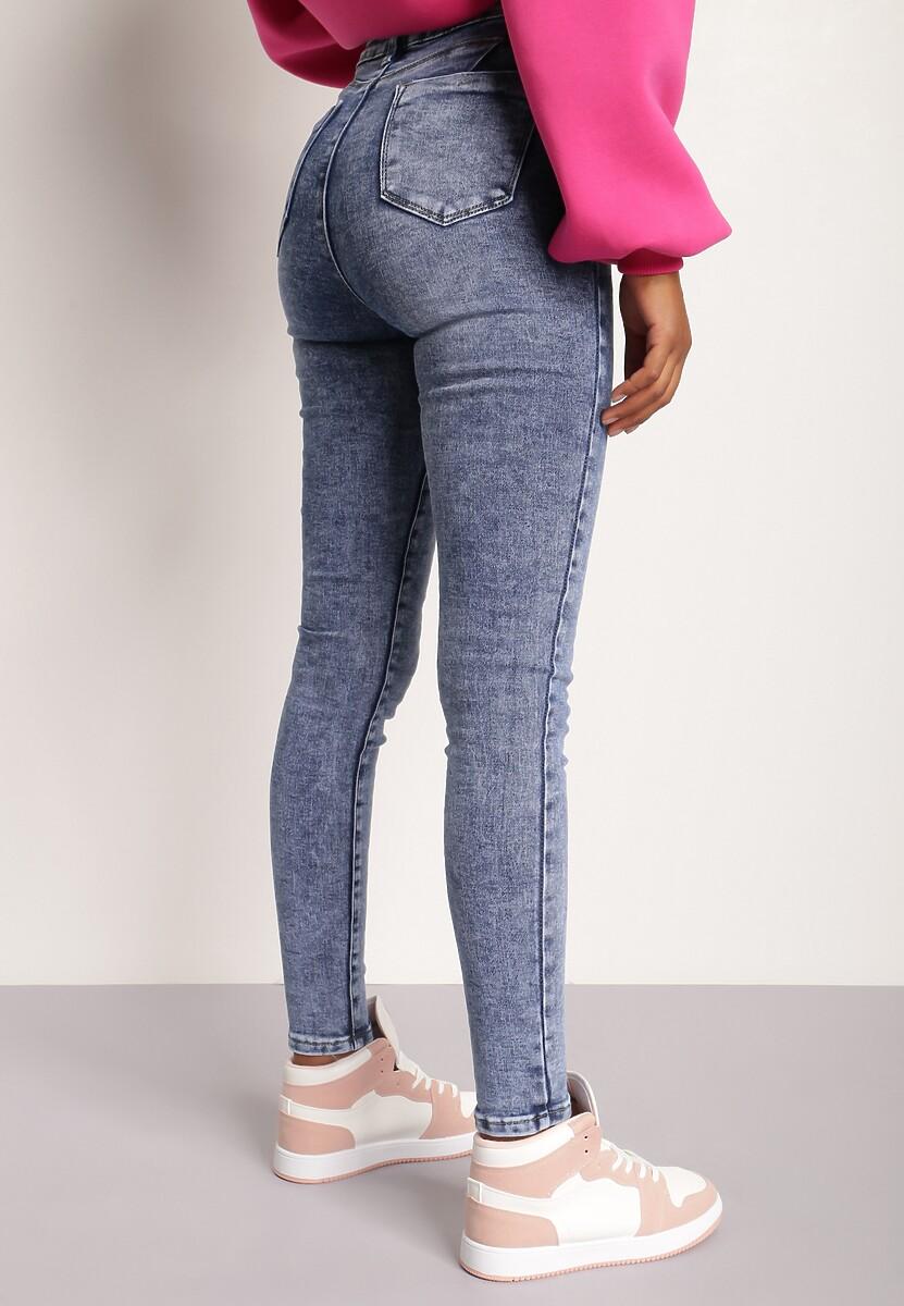 Niebieskie Jeansy Skinny Ameva