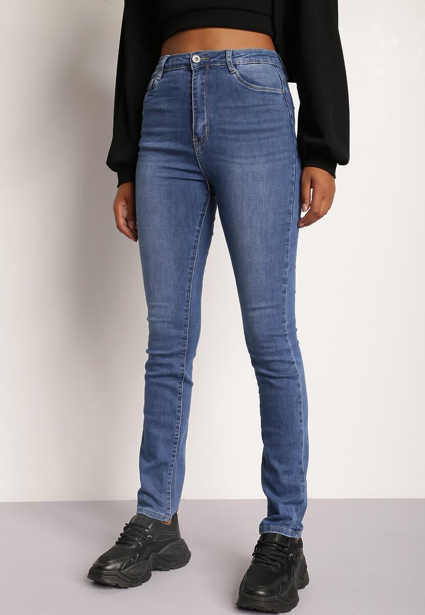 Niebieskie Jeansy Straight Nariroe