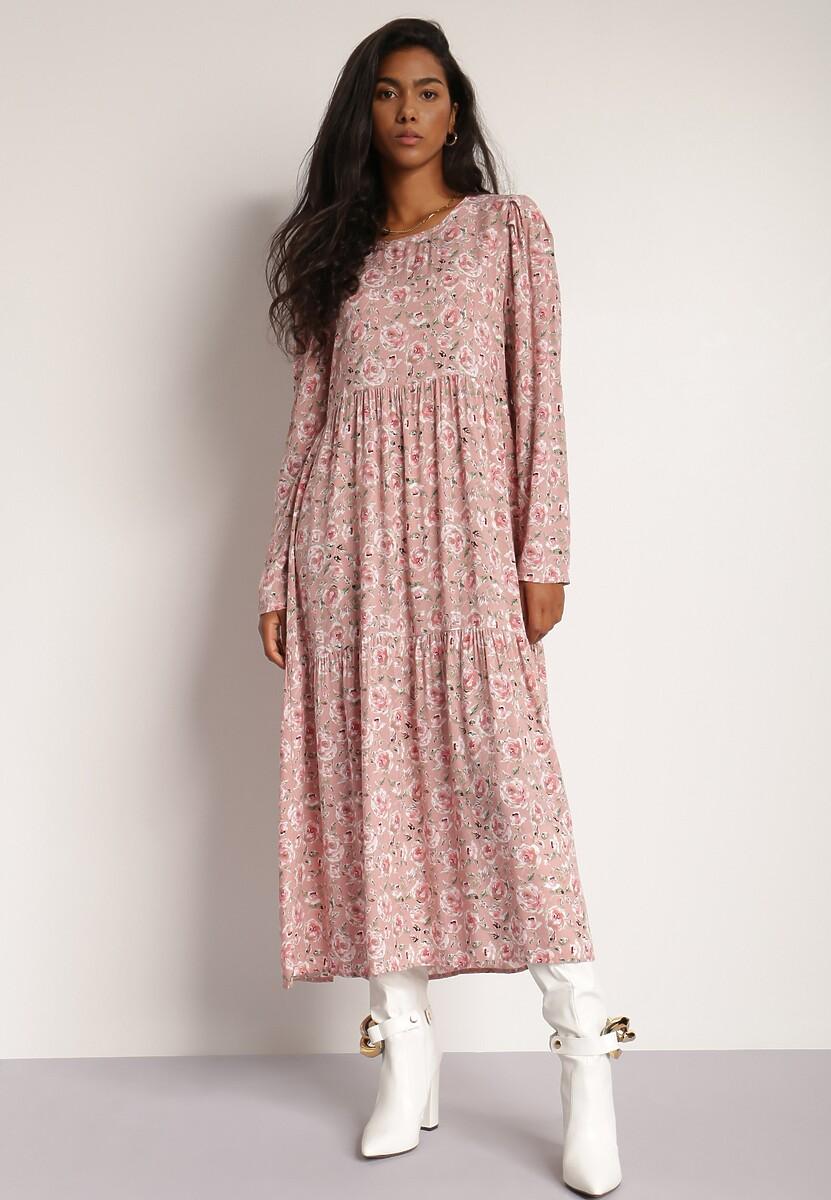 Różowa Sukienka Sheirea