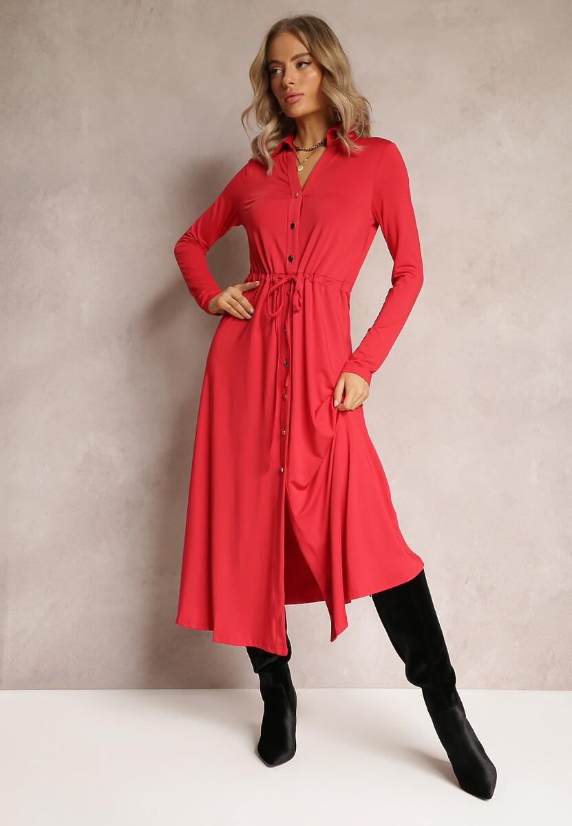 Czerwona Sukienka Evelle