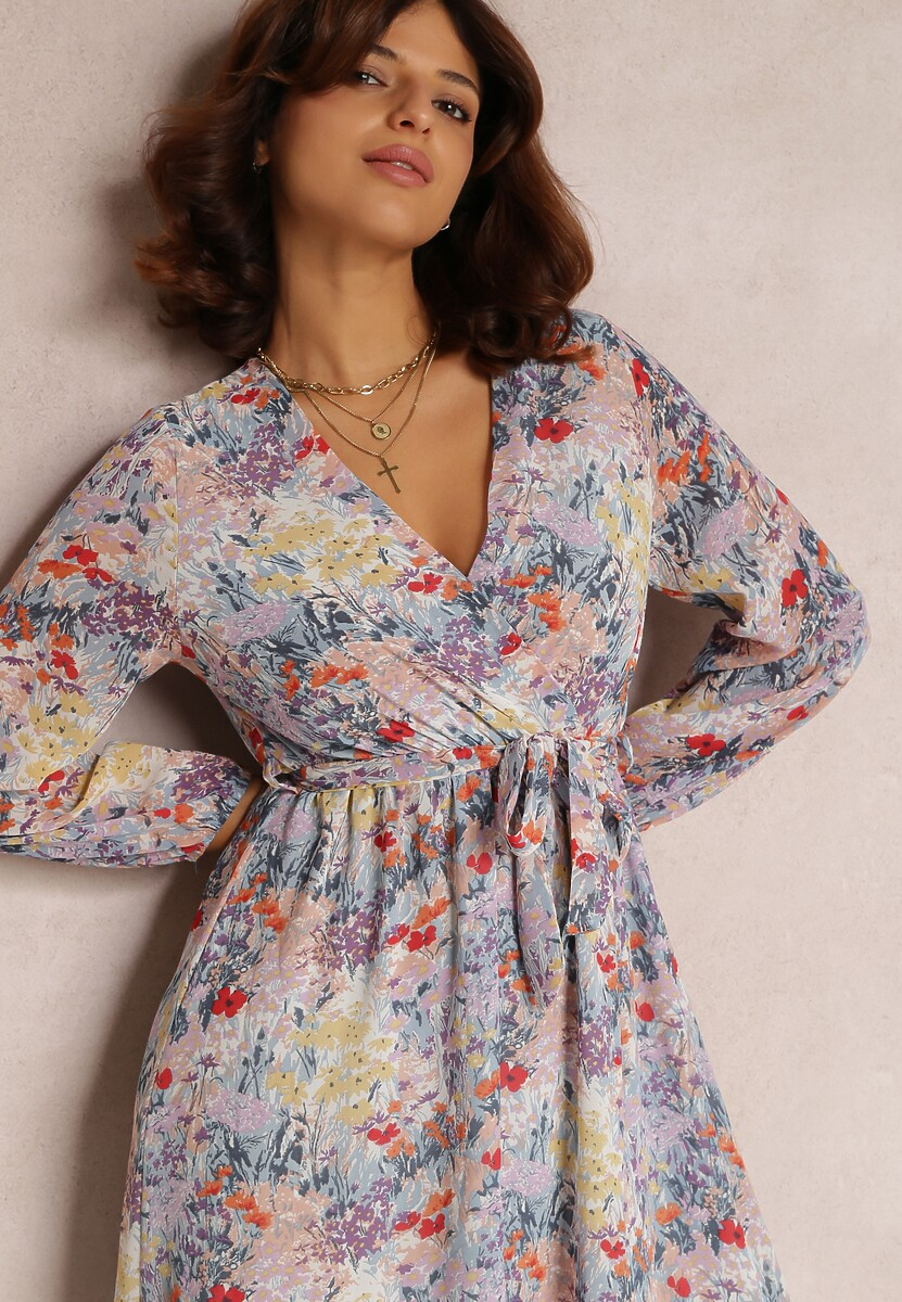 Jasnofioletowa Sukienka Neraphine