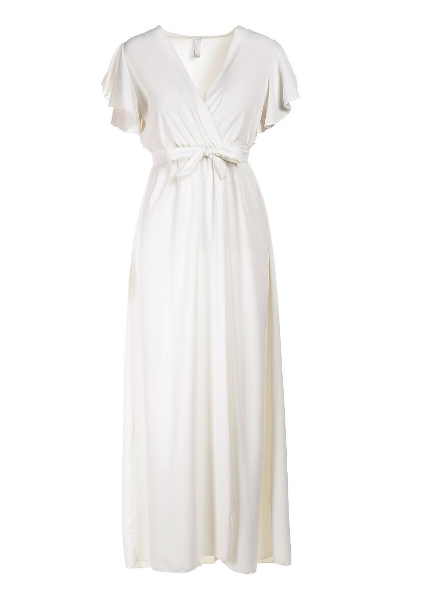 Biała Sukienka Idaria