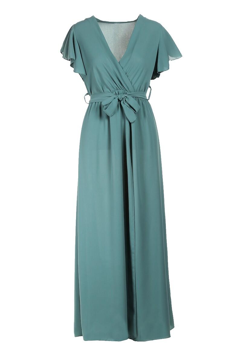 Zielona Sukienka Idaria