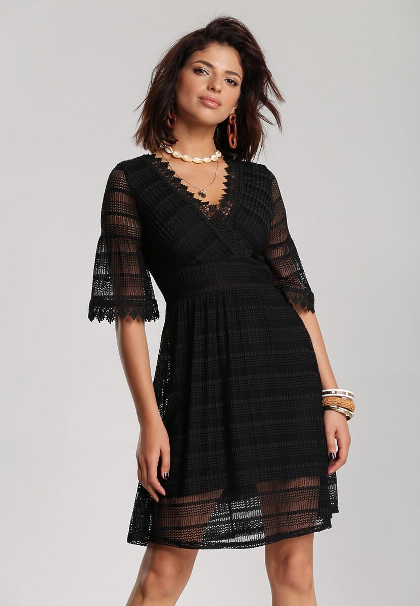 Czarna Sukienka Adreatina