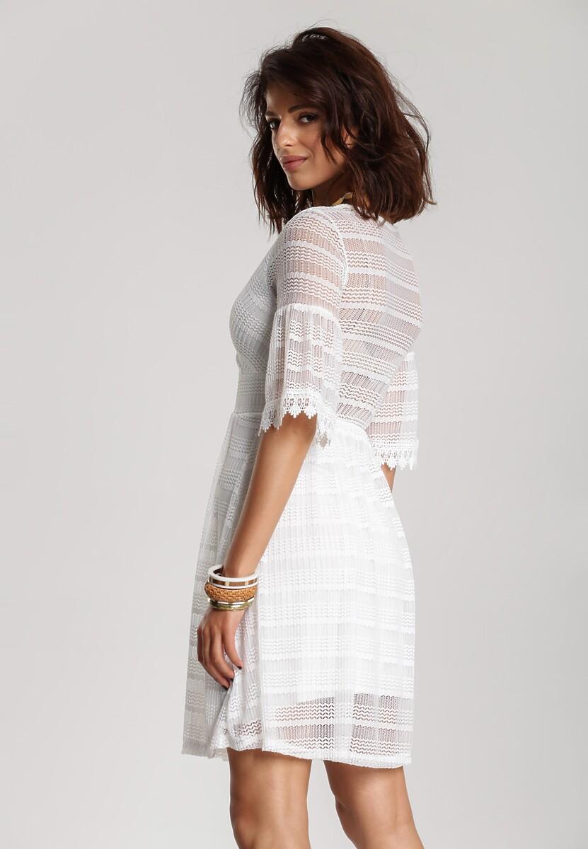 Biała Sukienka Adreatina