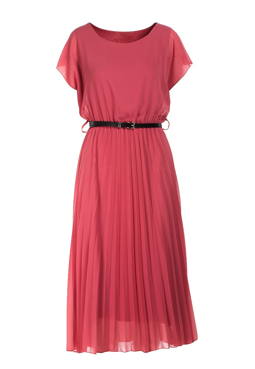 Różowa Sukienka Clymeine