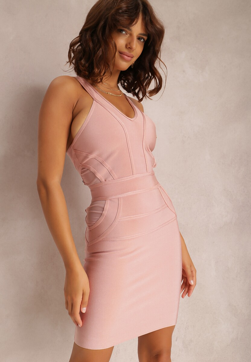 Różowa Sukienka Adriedah