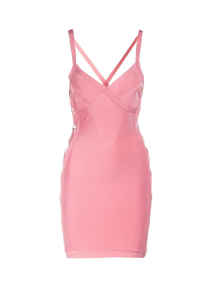 Różowa Sukienka Anirea