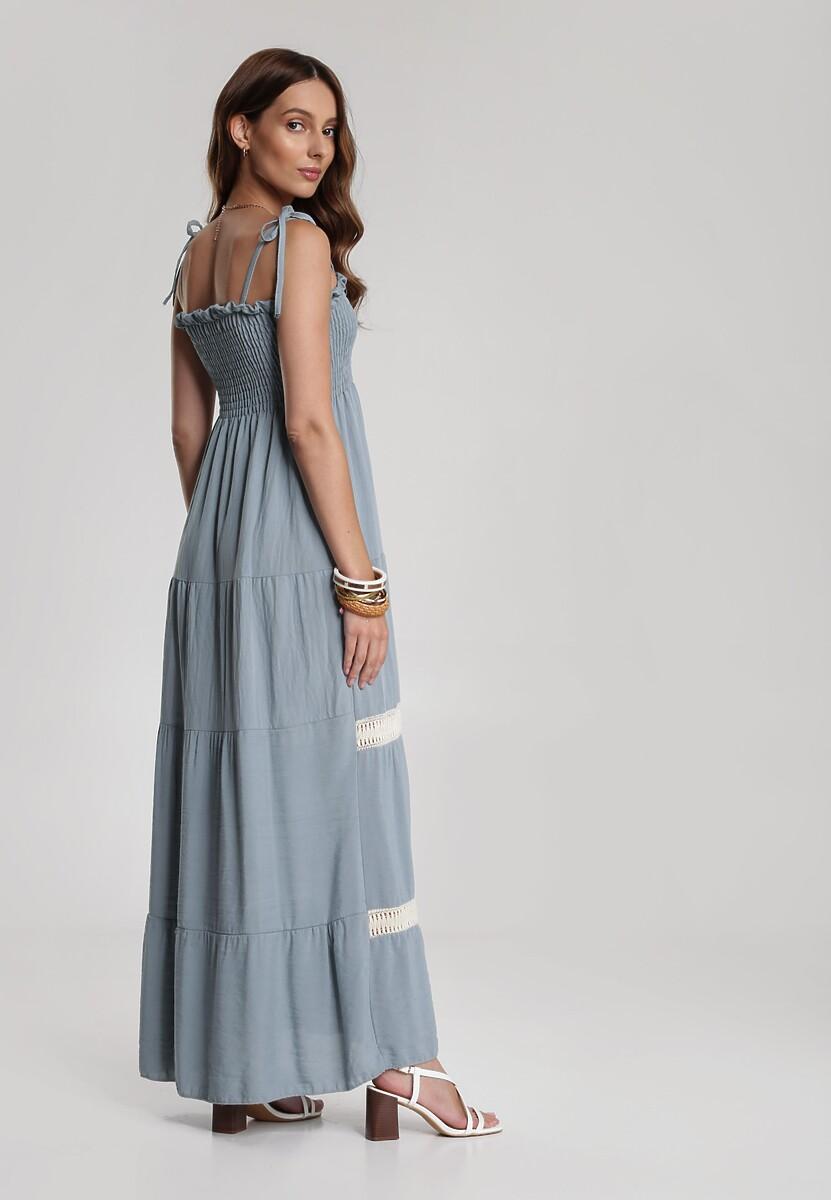 Niebieska Sukienka Adratea