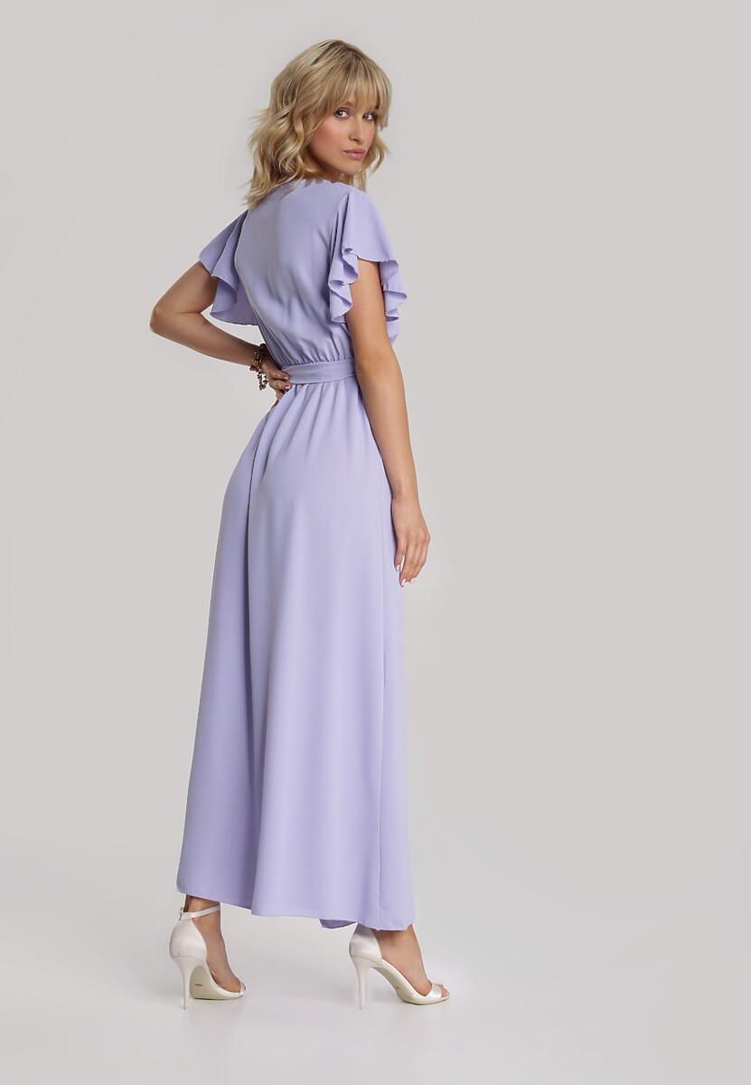 Lawendowa Sukienka Idaria