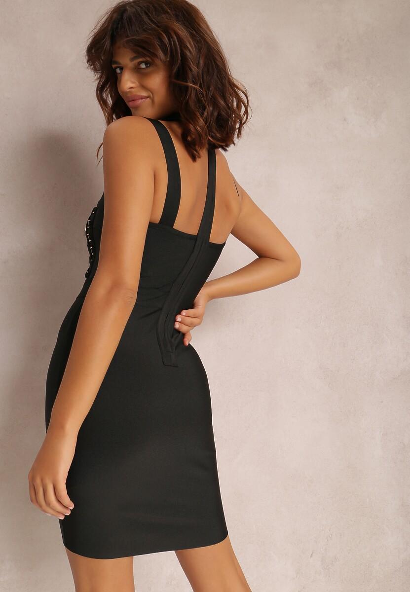Czarna Sukienka Urilvia
