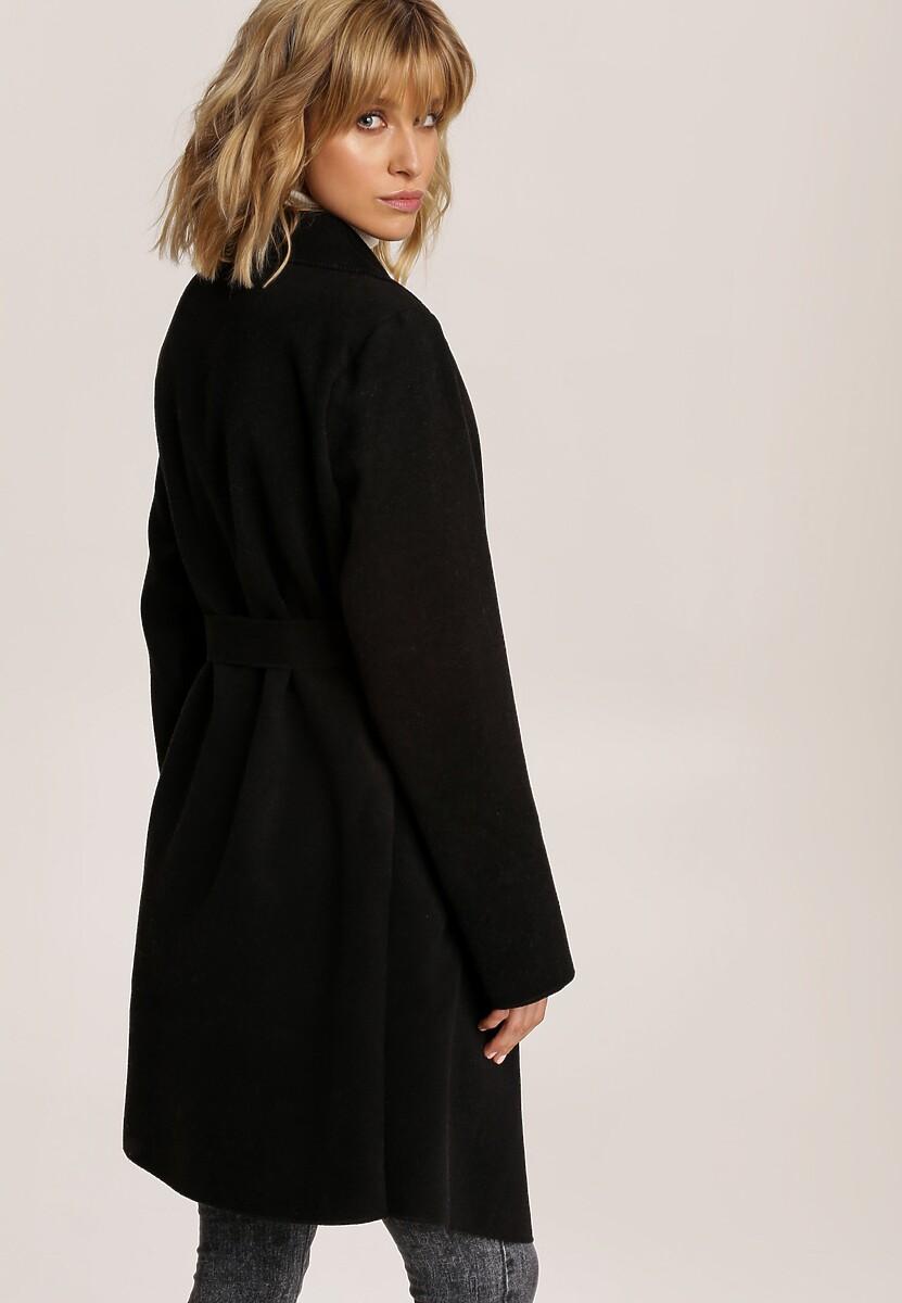 Czarny Płaszcz Terise