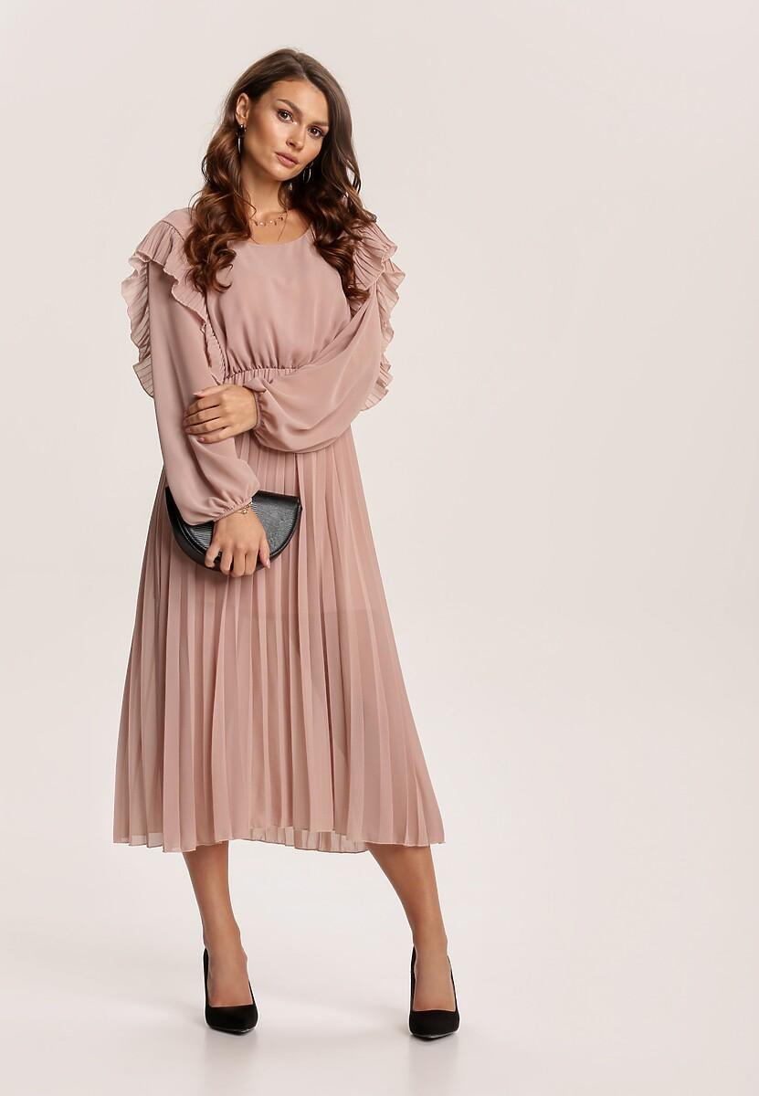 Beżowa Sukienka Yanella