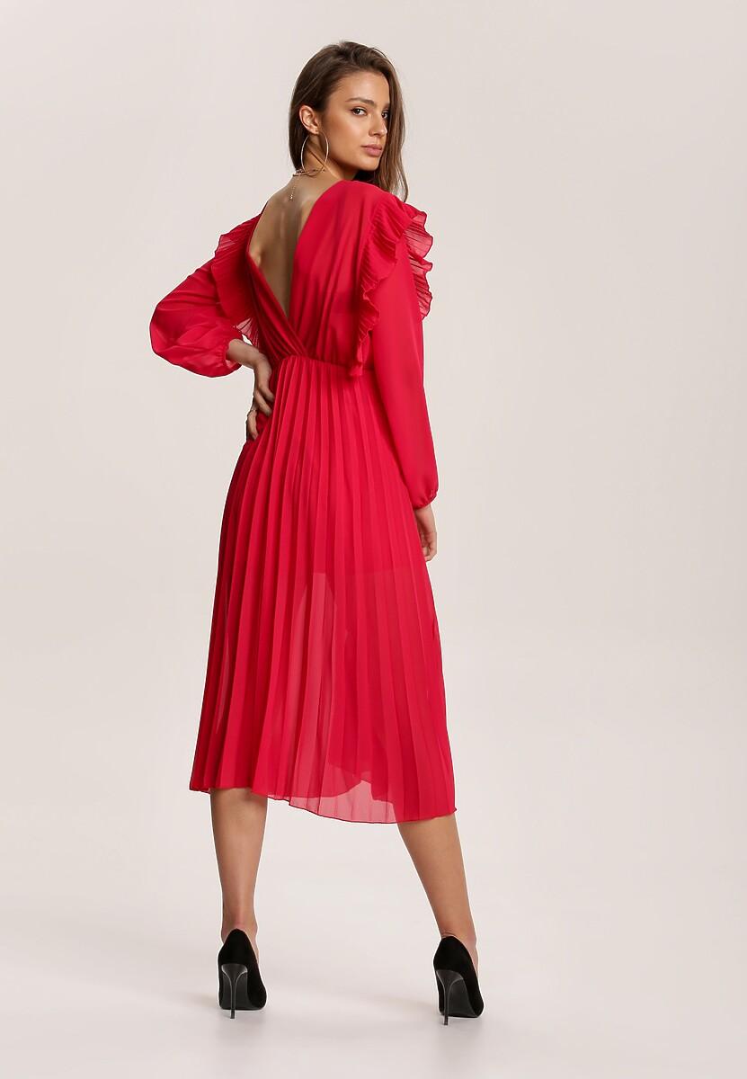 Czerwona Sukienka Yanella