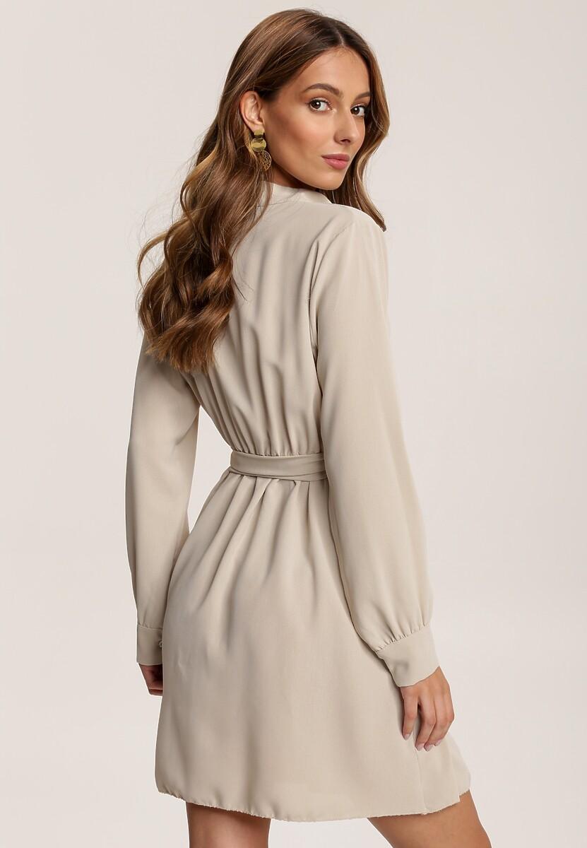 Beżowa Sukienka Charlith