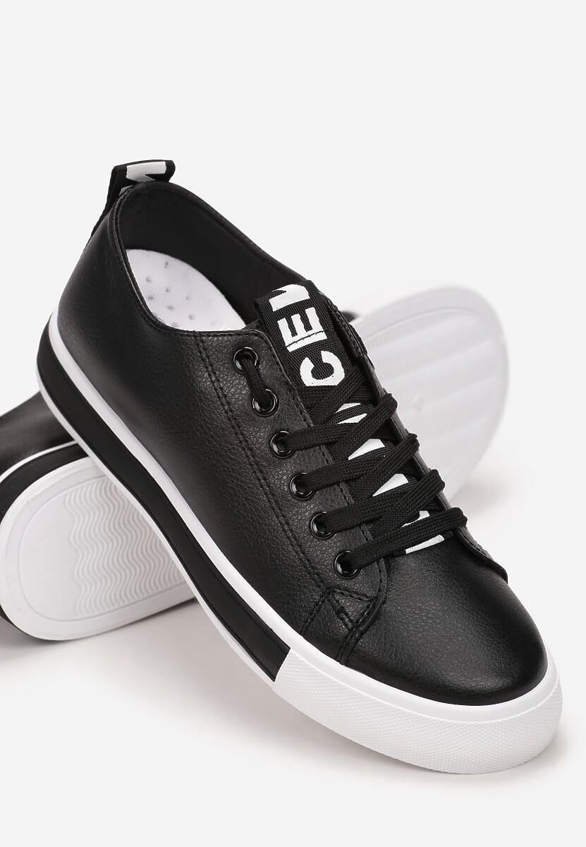 Czarne Buty Sportowe Phisvyra