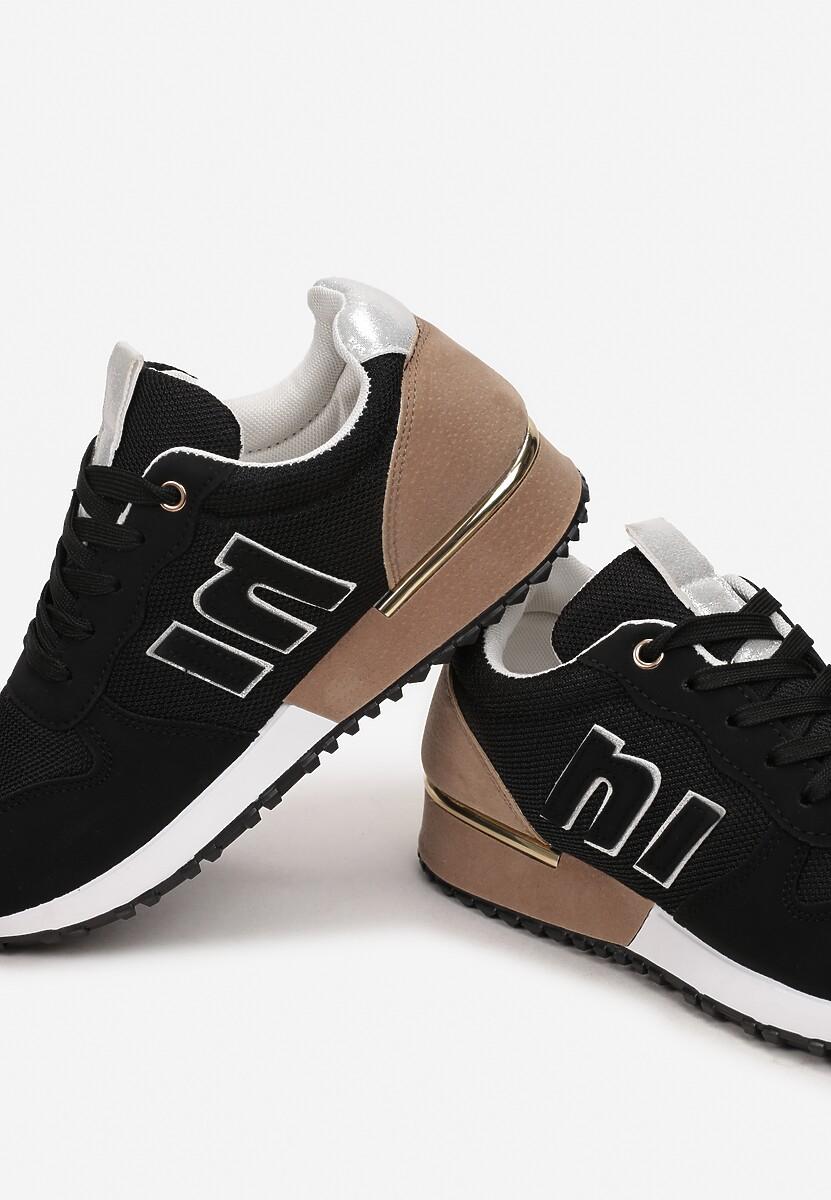 Czarne Sneakersy Orsea