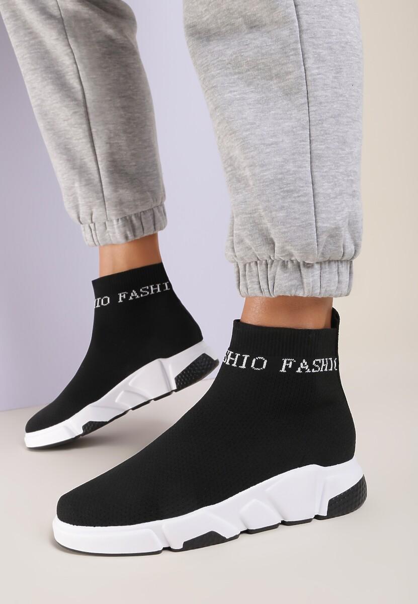 Czarne Sneakersy Orinera