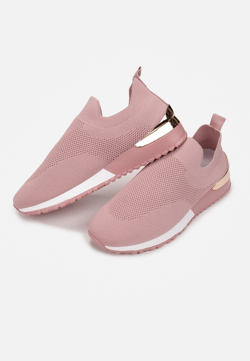 Różowe Sneakersy Adoziophai