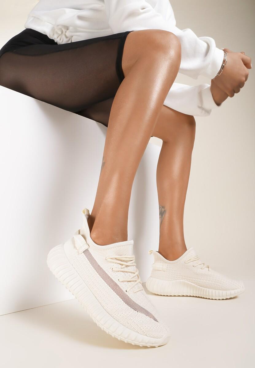 Jasnobeżowe Buty Sportowe Iphorise