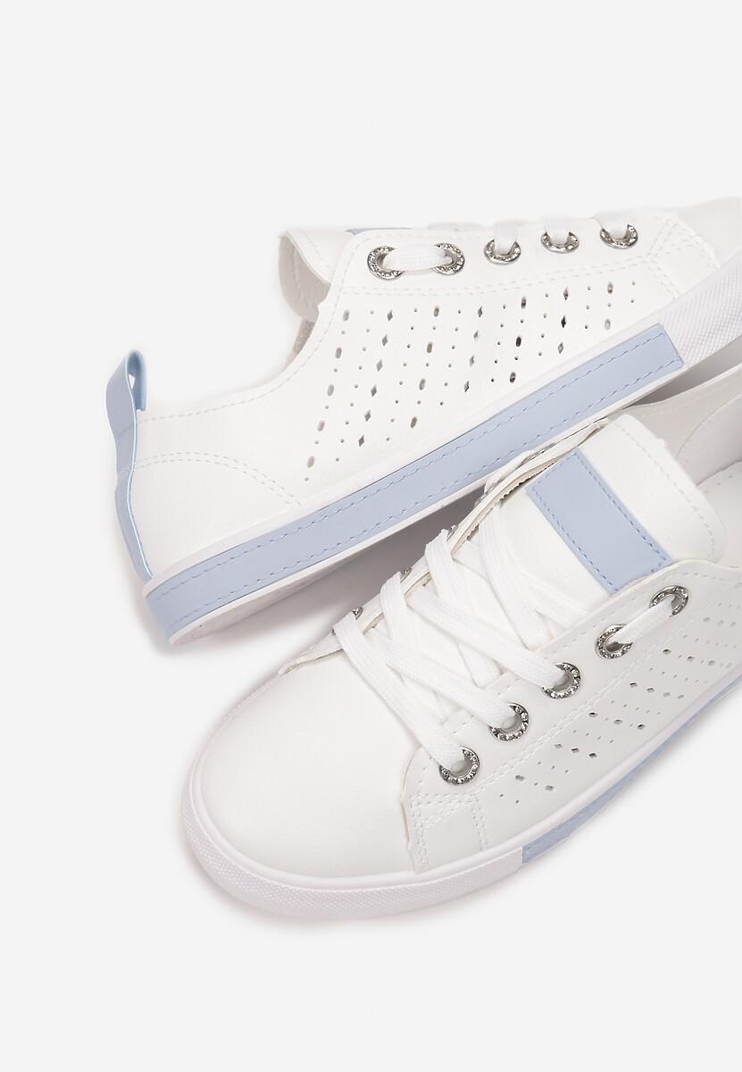 Biało-Niebieskie Trampki Nemoreli