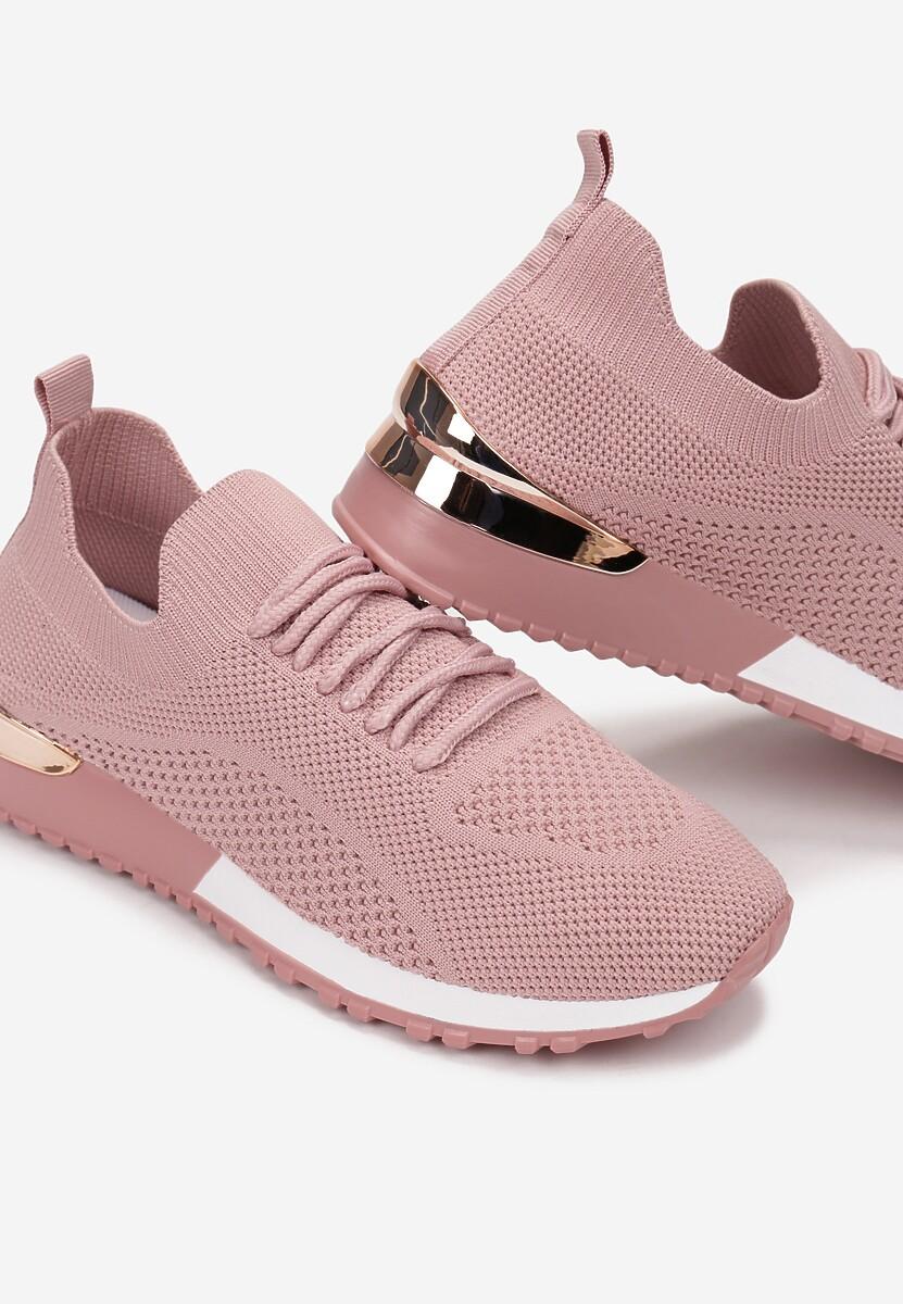 Różowe Buty Sportowe Hythia