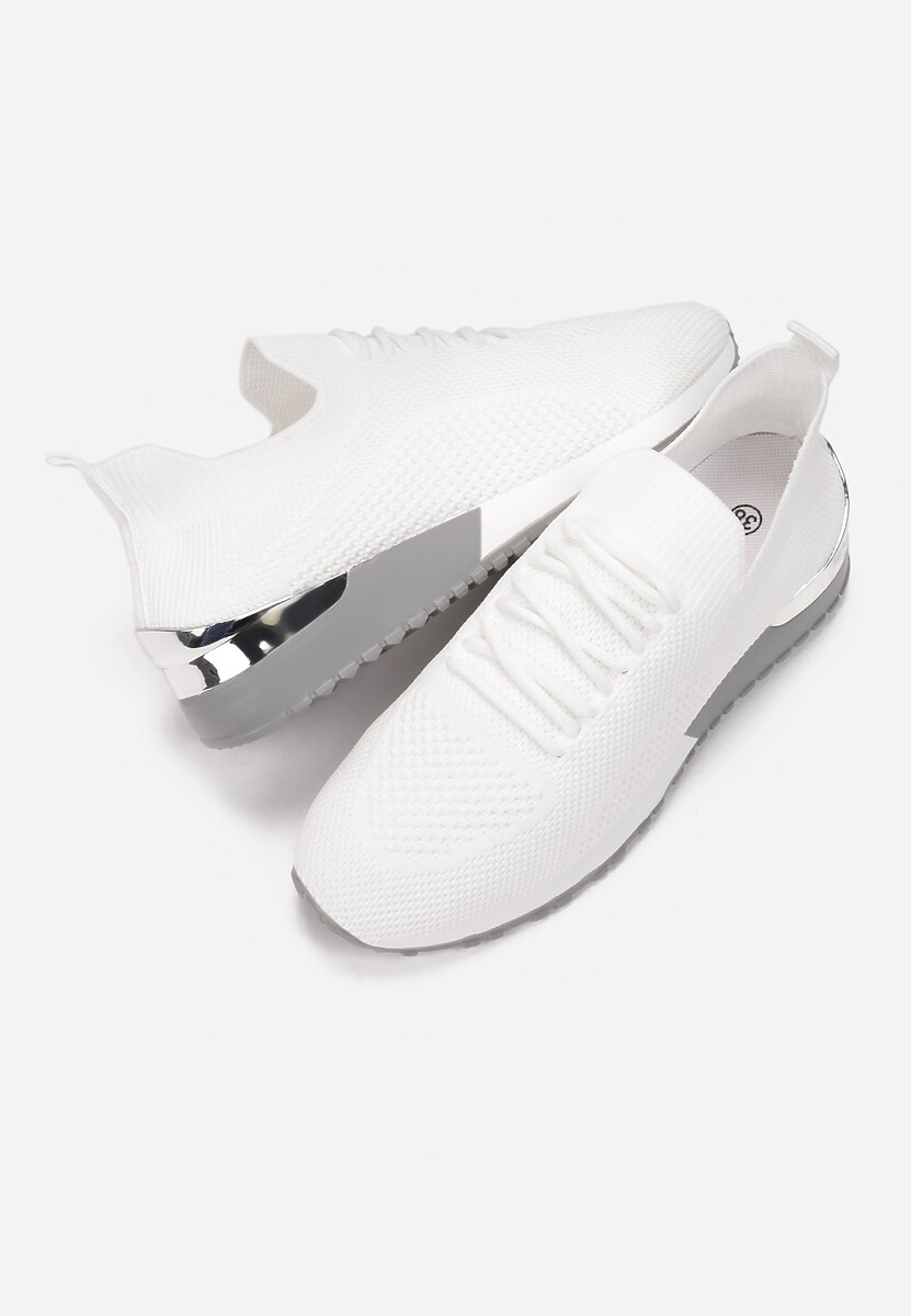 Białe Buty Sportowe Hythia