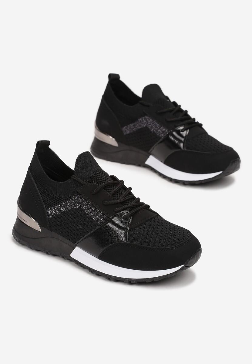 Czarne Sneakersy Viviarinia