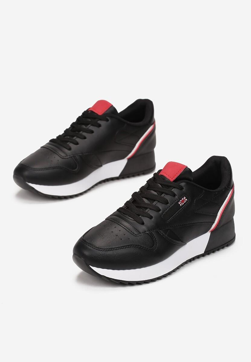 Czarne Sneakersy Cheneda
