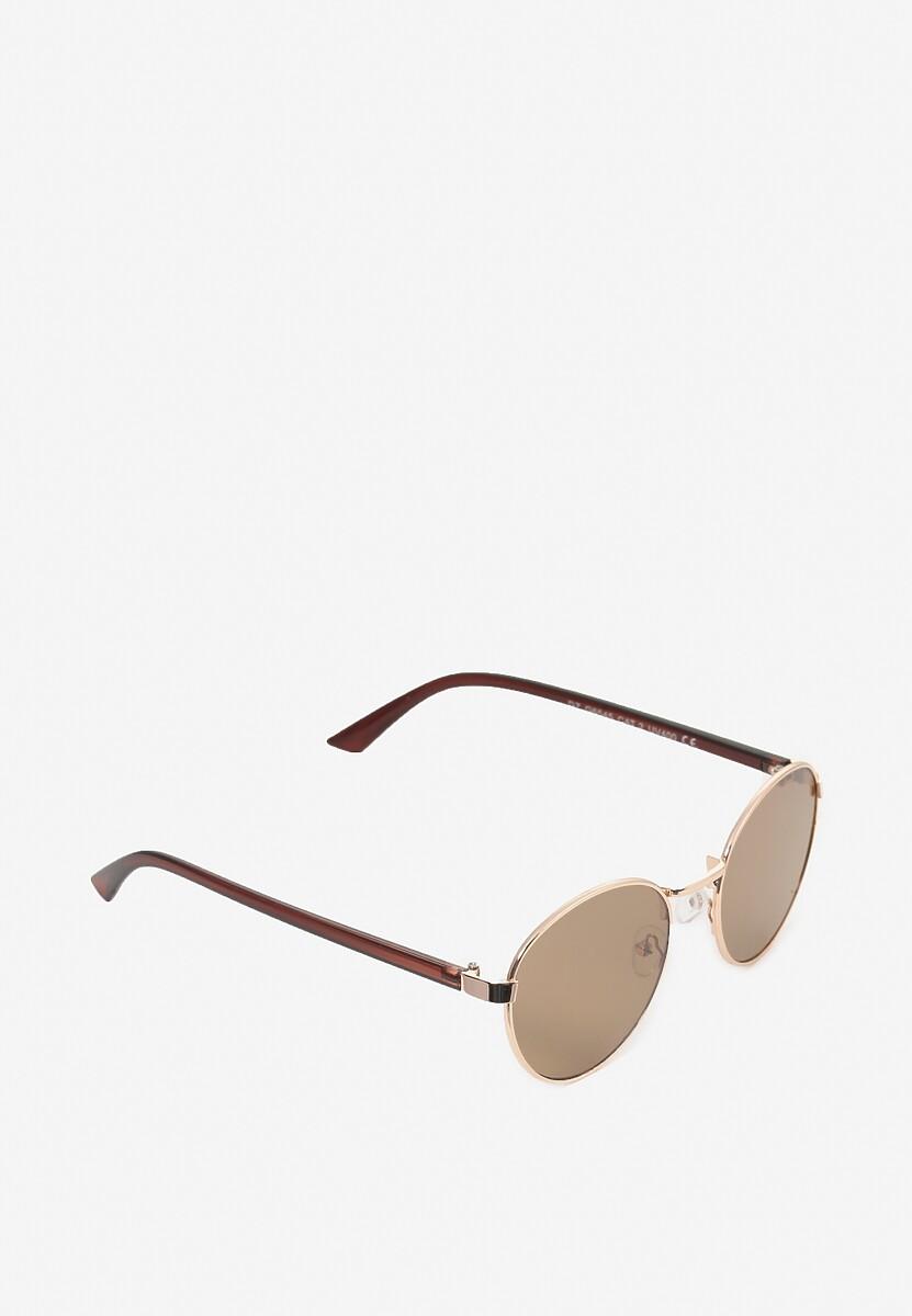Brązowe Okulary Idahphaeia
