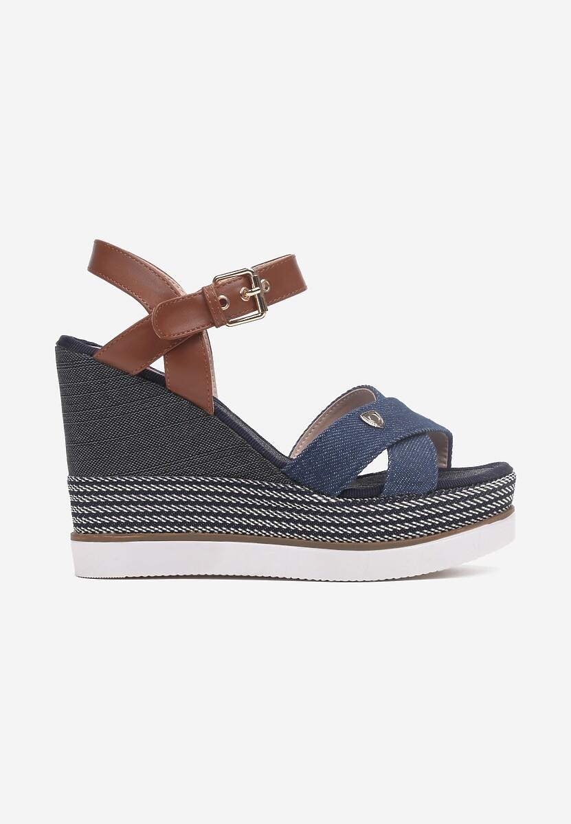 Niebieskie Sandały Daphnone