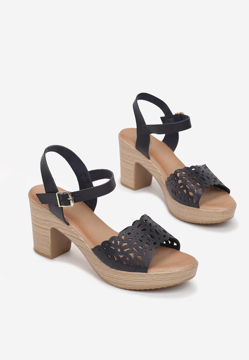 Niebieskie Sandały Ophiedice