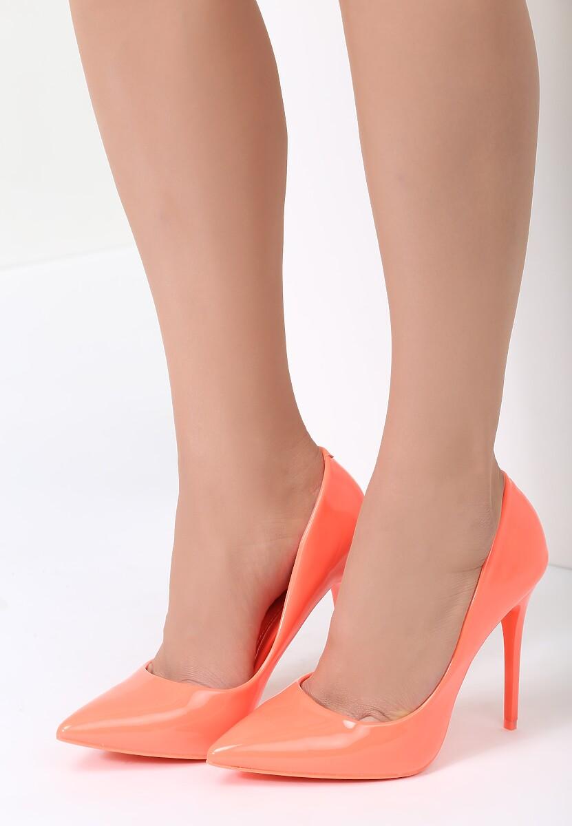 Pomarańczowe Szpilki Orange Madame