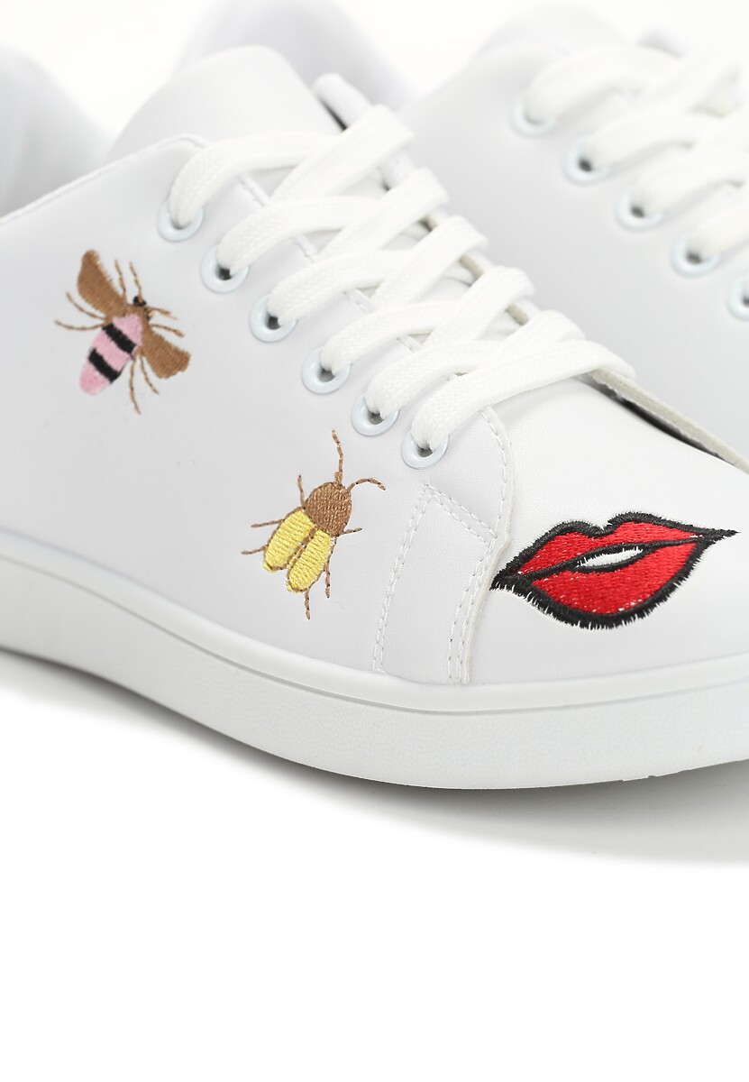 Białe Buty Sportowe Kisses w Www.renee.pl