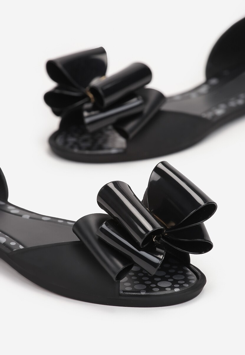 Czarne Sandały Reminiscing